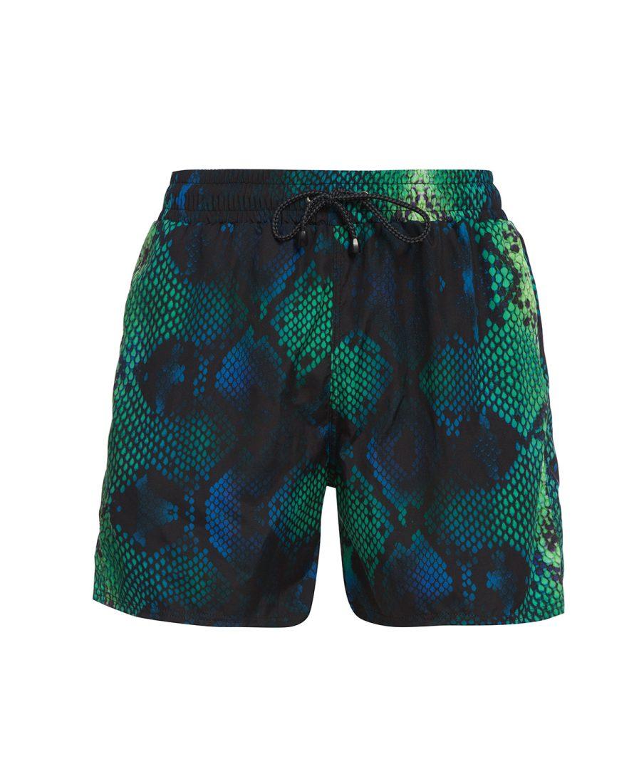 Green Boa Shorts