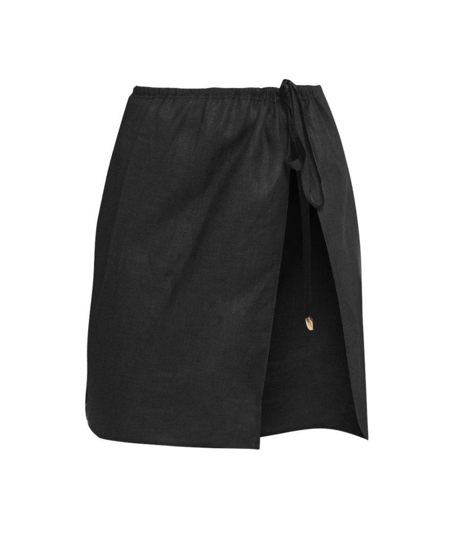 Black Linen Set