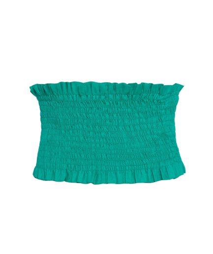 Green Linen Top
