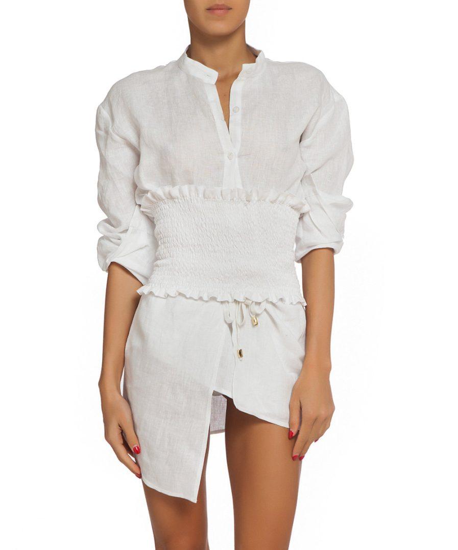 White Linen Set