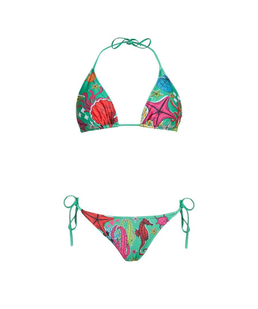 Green SeaShell Bikini